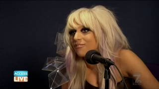 Lady Gaga interview with Billy Bush 2009 - Access Live - A Star Is Born Golden Globes 2019