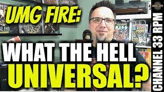 Lessons from the Universal Music fire PLUS, why are libraries lending records again