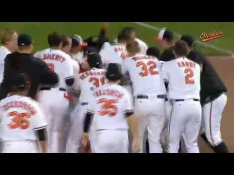 Baltimore Orioles Vs Boston Red Sox Chris Davis Game Winning Single