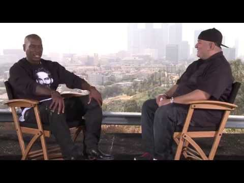 FURIOUS 7 Interview - Tyrese Gibson Pays Tribute to Paul Walker