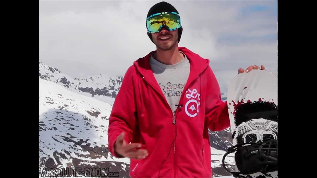 2012 / 2013 | Rome SDS Shank Snowboard | Video Review ...