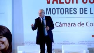 Conferencia de Michael Porter en el Foro Clusters y Valor Compartido