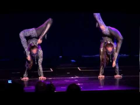 The Contortion Sisters @ the International Contortion Convention 2011 in Las Vegas