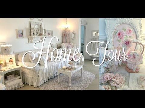 🏡SHAB CHIC HOME TOUR~ Annamarie May Cottage of the Month