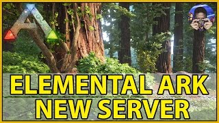 NEW SERVER - ELEMENTAL ARK - JOIN TRIBE