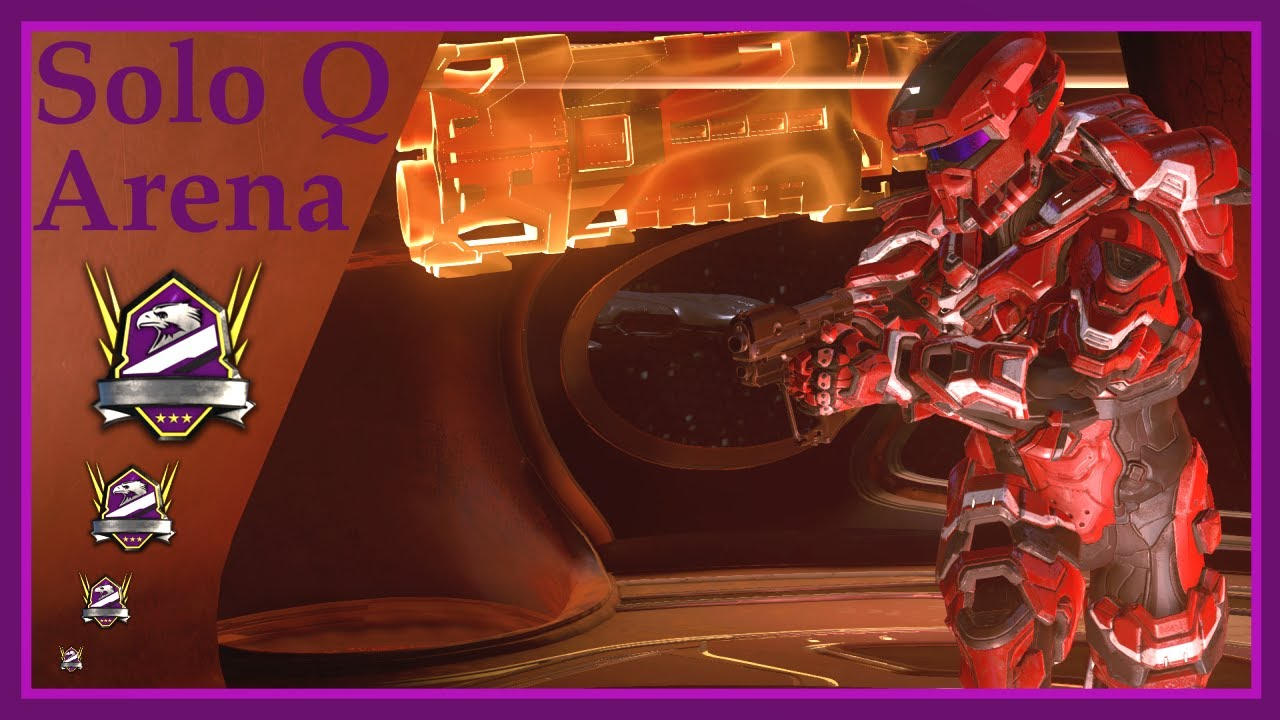 Halo 5 - Solo Queue Champion Arena with Stress part 2!