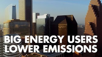 How can big energy users cut carbon emissions? | Electricity