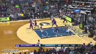Andrew Wiggins Full Highlights vs Kings 2015 01 01 27 Pts, 9 Reb, Dunkfest!