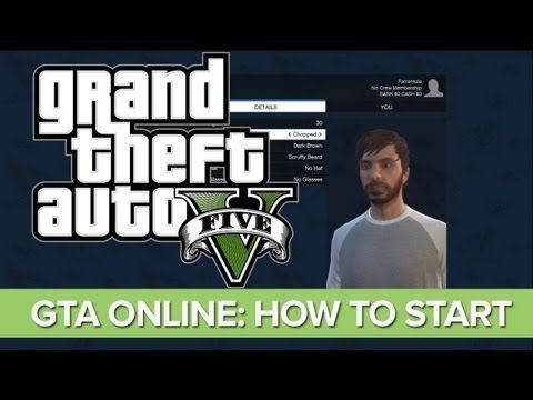 GTA Online - How To Start And Character Creator