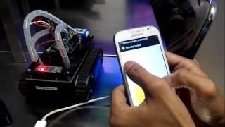 Remote Control (RC) dengan Kendali Smartphone Android