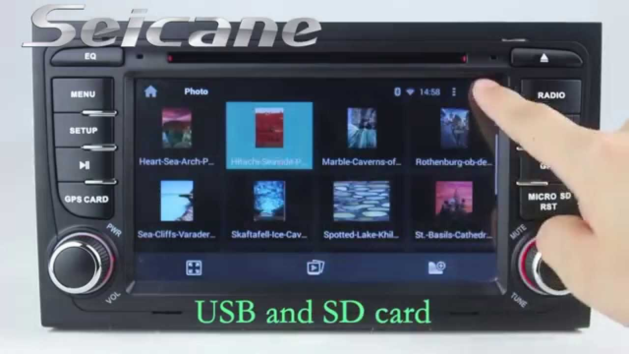 Android 4 4 audi a4 s4 rs4 2 din radio dvd navigation for Mueble 2 din audi a4 b6