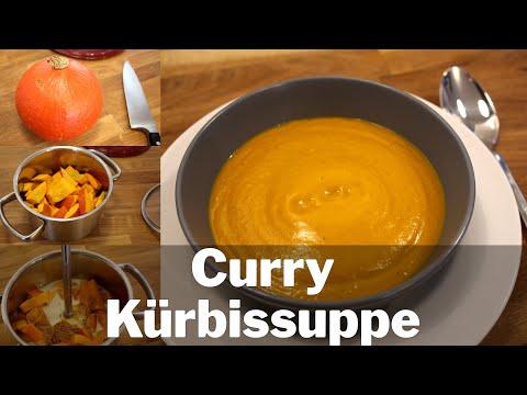Rezept: Kürbissuppe mit CURRY | LECKER | Paleo Vegan