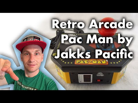 Retro Arcade Pac Man By Jakks Pacific
