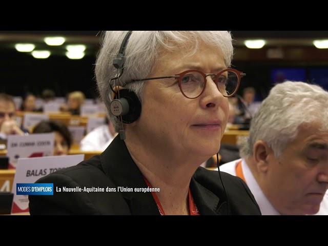 La Nouvelle-Aquitaine dans l'Union européenne - Modes d'emplois