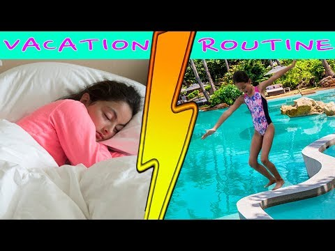 Vacation Morning Routine!!