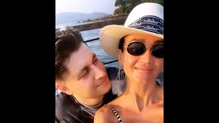 Ольга Бузова и Давид Манукян неразлучны на отдыхе в Таиланде