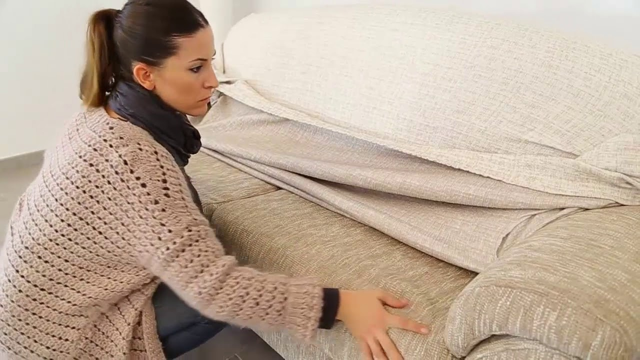 How to Fit a Sofa Cover - 1 Seater, 2 Seater, 3 Seater Couch Cover