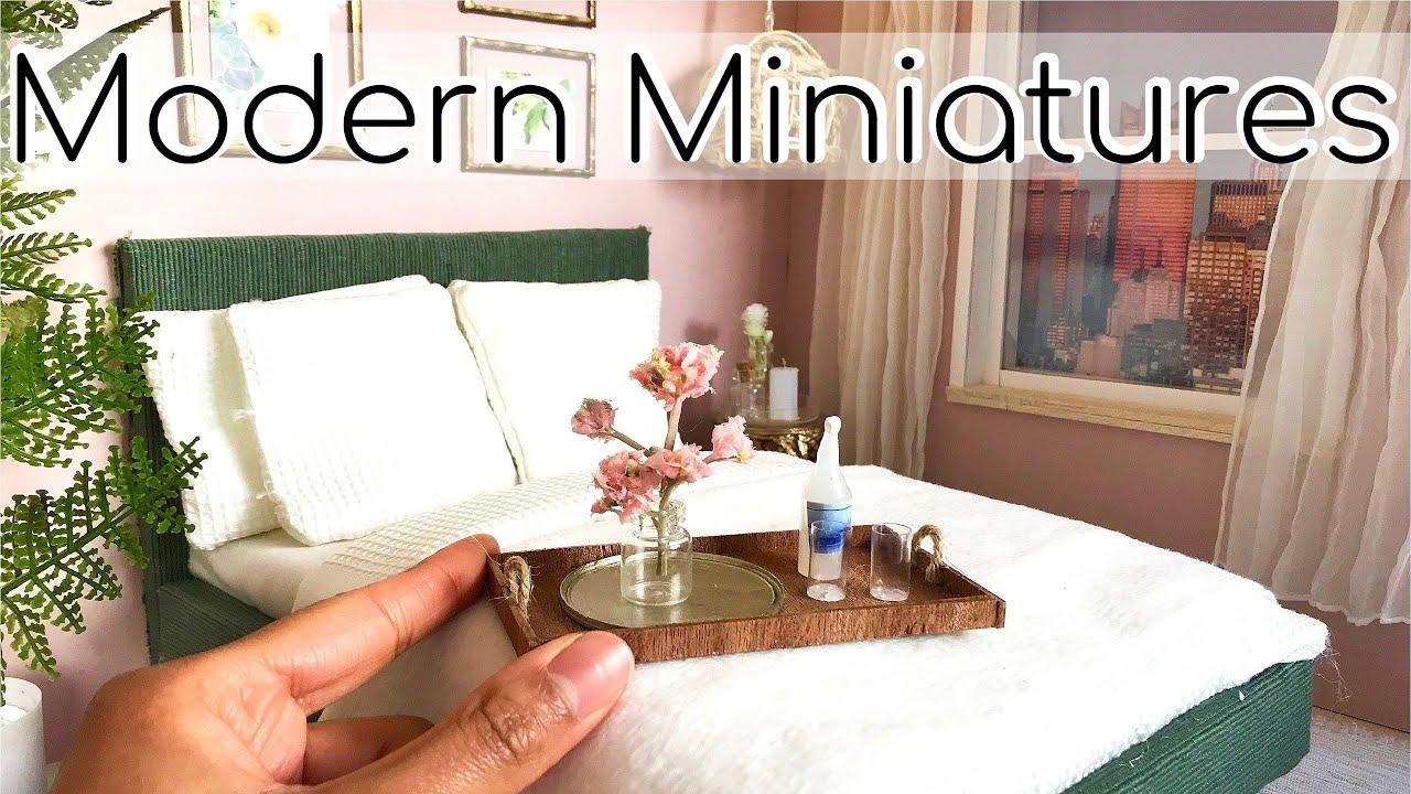 Diy Miniature Bedroom Walk In Closet Youtube