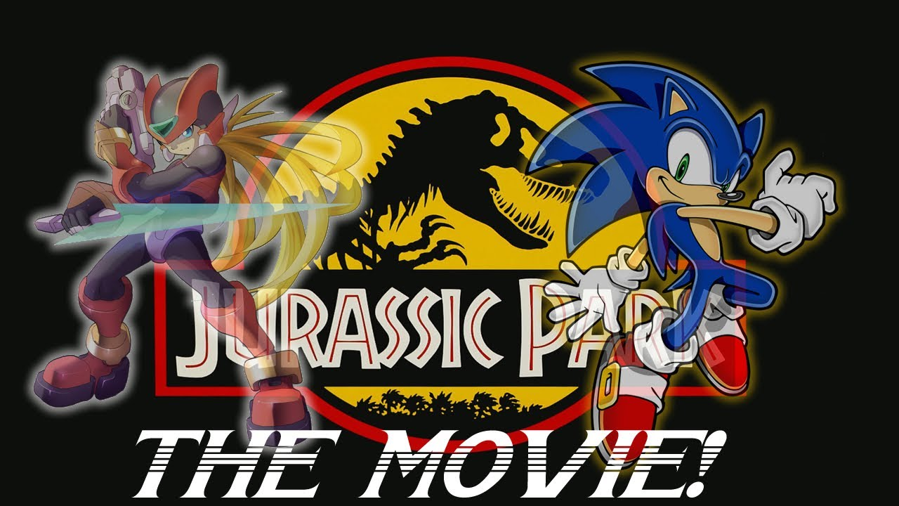 zero amp sonic pay a visit to jurassic park the movie
