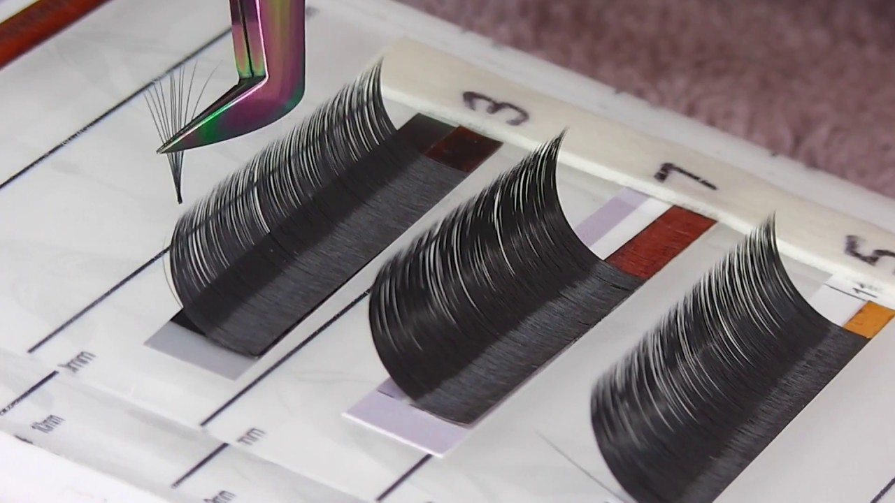 Eyelash Extensions 101 -Getting to grips with Volume Tweezers