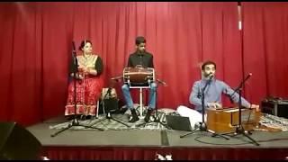 Live performance Raj Mohan, Dinesh Khoenkhoen and Ratna Bhageloe