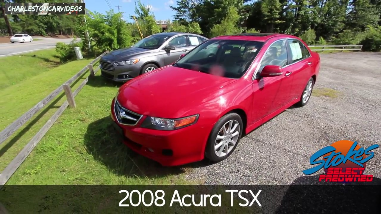 2008 acura tsx 9 years later review plus for sale at stokes select july 2017 youtube. Black Bedroom Furniture Sets. Home Design Ideas