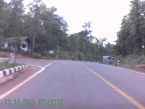 ขับรถตามหลังรถทัวร์กรุงเทพ - แม่ฮ่องสอน
