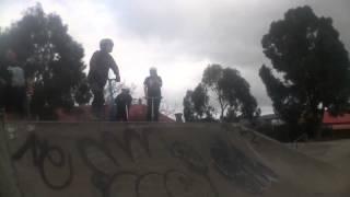 Quick clips at EC skatepark