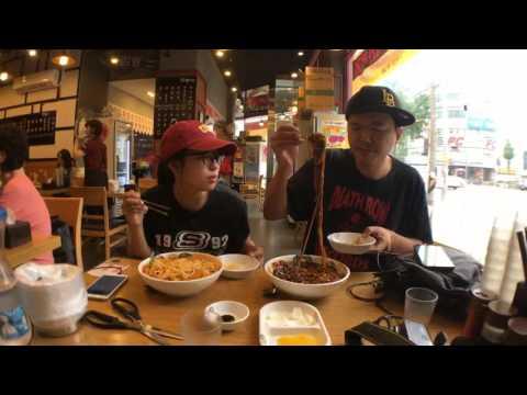 Chinese Restaurant in Korea. Mukbang [EXBC]