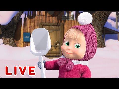 Masha y el Oso - Los dibujos animados sobre el invierno ⛄ Todos los episodios seguidos 🎬