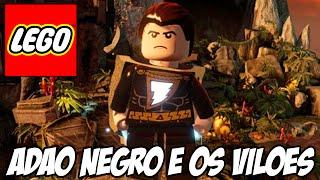 Lego Batman 3 - Adão Negro e a sala secreta dos VILÕES