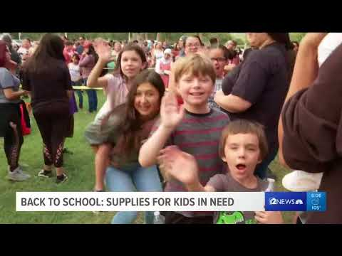 'Tools 4 Schools' drive hands out more than 15,000 backpacks