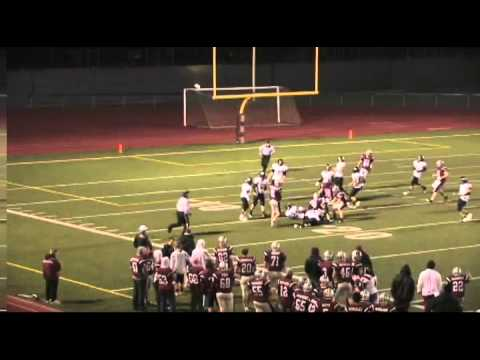 Tyler Hordyk's 2011 Football Highlight Video, Wide Receiver, Class of 2013, Bethel High School