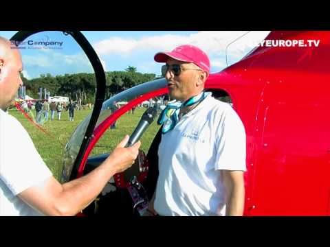 Maurino Antongiovanni - Autogyro ELA - Helic. Famà - Meeting Primavera 2013 - (Italian language)