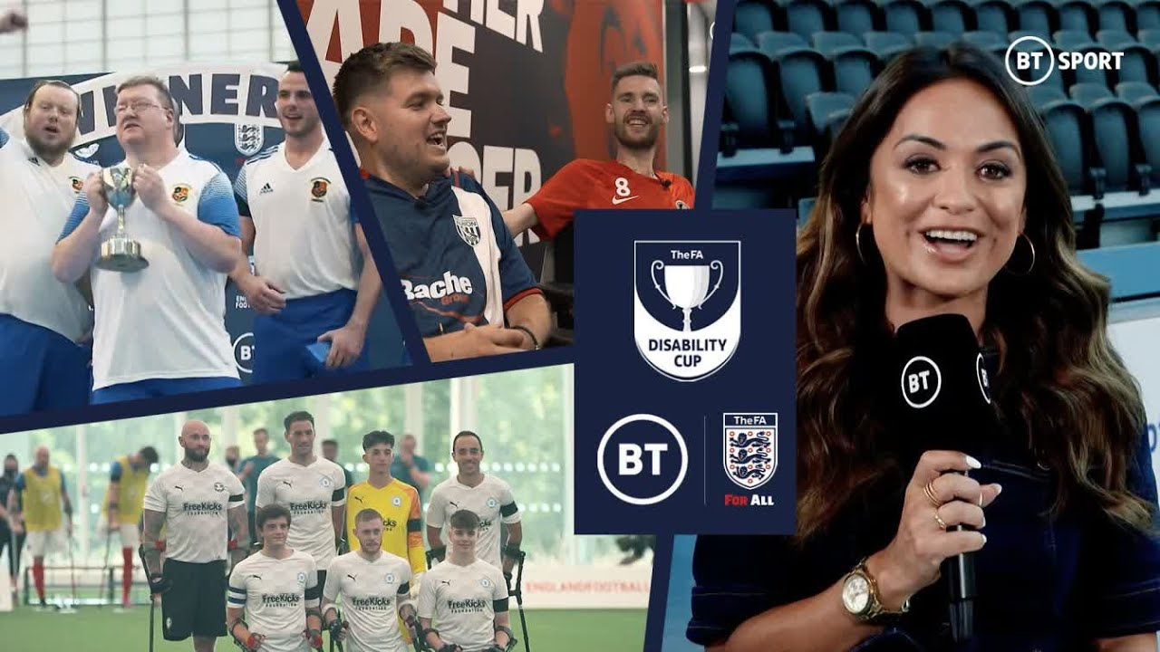 Inspirational! 5 Cup Finals in a sensational weekend at the FA Disability Cup!