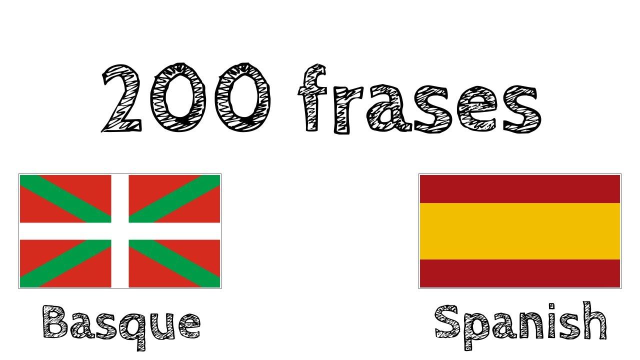 200 Frases Vasco Euskera Español
