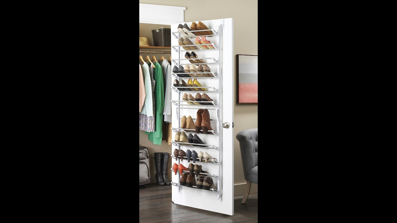 341691c28fd Review  Whitmor Over-The-Door Shoe Rack