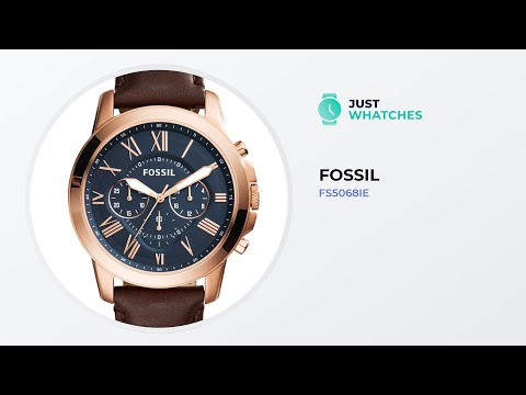 Trendy Fossil FS5068IE Men Watches Features, Detailed Review 360°, Prices