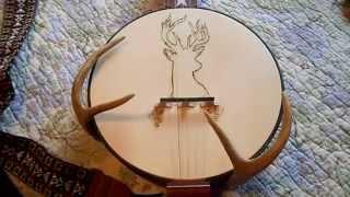 Fireside Banjo with Deer Antler Armrest Part 3