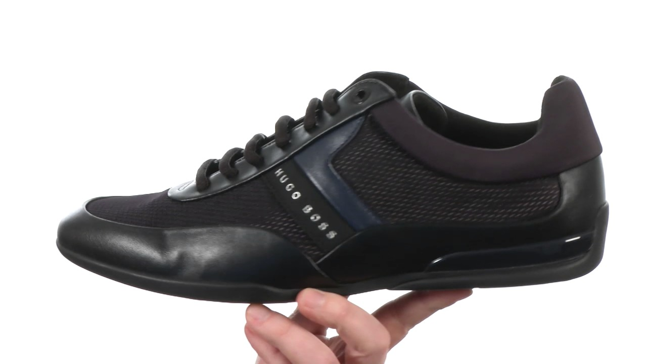 hugo boss lace up trainers Shop