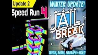 Jailbreak/Speed Run 4 | Roblox