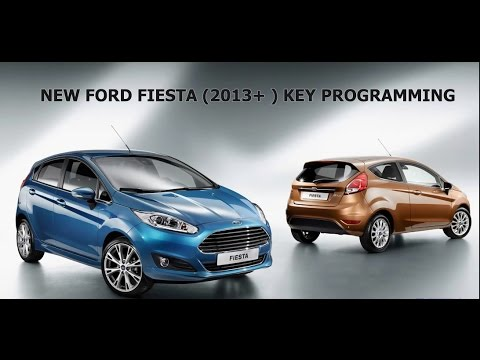 NEW FORD FIESTA 2013+ KEY PROGRAMMING
