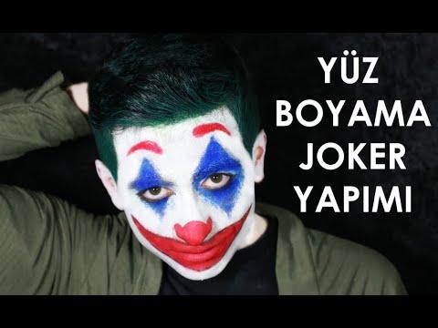 Yuz Boyama Joker Face Painting Joker Youtube