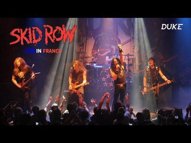 Skid Row - Live, Paris 2018 (Sweet Little Sister, Piece of Me) - Duke TV