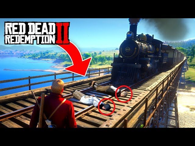 RED DEAD REDEMPTION 2 FAILS & FUNNY MOMENTS! #1