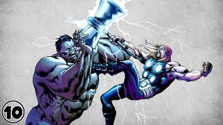 Who Is The Strongest Avenger? Thor or Hulk?