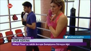 Gambar cover ''Süreyya AĞIL İle Kick Boks'' SKY TURK 360TV'de mhm