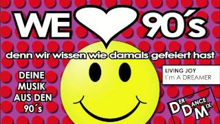 Hits der 90er - die besten Dance Kracher - presented by WE LOVE 90´s
