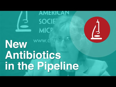 New Antibiotics in the Pipeline