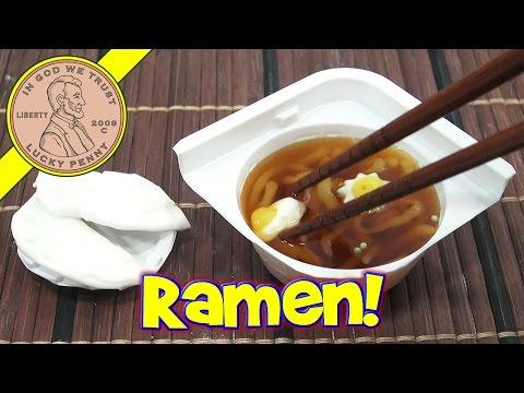 Ramen Noodle DIY Japanese Kracie Poppin' Cookin' Kit